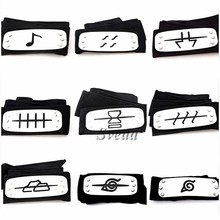 Hot Japanese Anime Naruto headband Naruto cosplay accessories