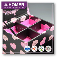 Top Quality Classic Square Special Cosmetic Mylar Gift Box Packaging