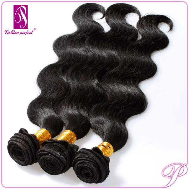 5A Cheap Unprocessed Body Wave and Deep Wave Peruvian Virgin Remy Hair 99j weave