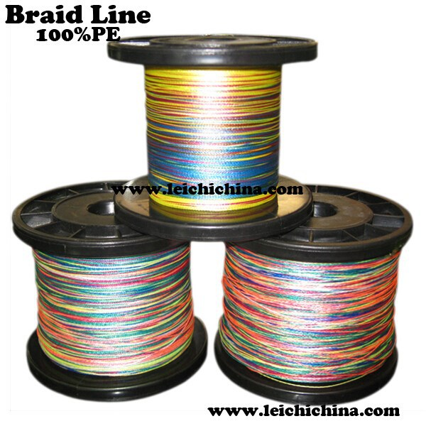 8 strand pe braided fishing line with plastic fishing line for Where to buy fishing line