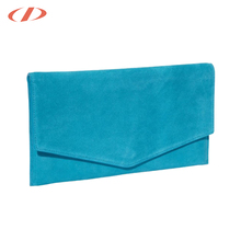 2017 blue suede bag envelope designer woman clutch bags made in china wholesale leather ladies evening clutch bag