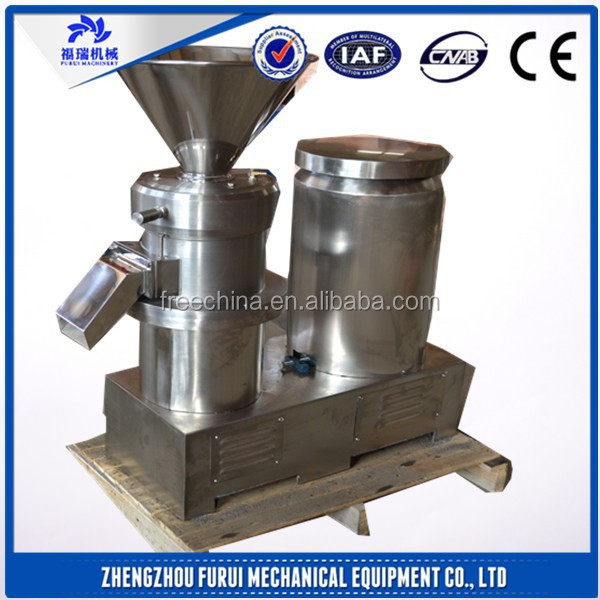 HIGH EFFICIENT fruit and vegetable grinding machine/peanut butter machine
