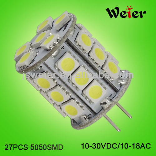China quality 4w 27smd G4 led lamparas