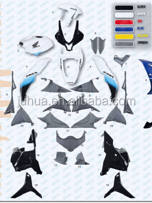 Motorcycle Bodywork Fairing Kit for honda CBR600RR 2009-2010