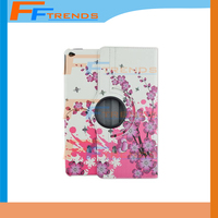 Painting Flower Ultra Thin Magnetic Smart Case Slim Back Cover For iPad Air 2