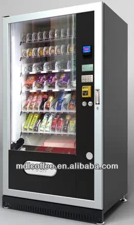 Height 2000mm Food Grade Vending Machine for Sale LV-205L-610