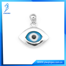 925 Sterling Silver Jewelry Evil Eye Pendant with eye glass