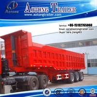 Heavy duty 2/3 Axles Tipper Truck Trailer /Self Dumping/Dump/Dumper truck Semi Trailer for sale