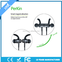 Sporty Wireless Phone Stereo bluetooth headset with magnetic