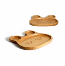 Food-grade varnish FDA certification animal wooden children's <strong>plates</strong>