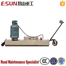 High quality custom 8-15 min Heating time infrared bitumen road reclaimer