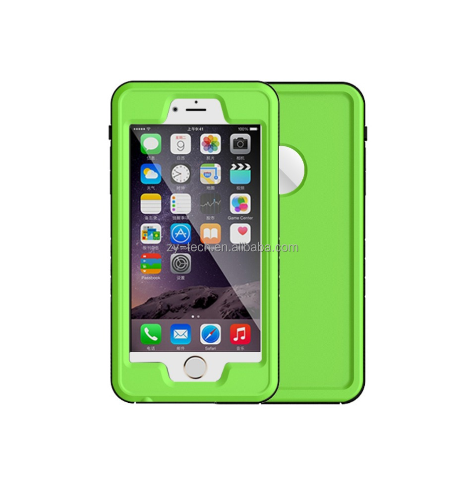 2017 new full body protective Waterproof Shockproof Dirtproof Case Cover for iphone 6 6S plus