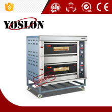 Yoslon 1deck 2trays gas oven for resturant stainless steel deck oven
