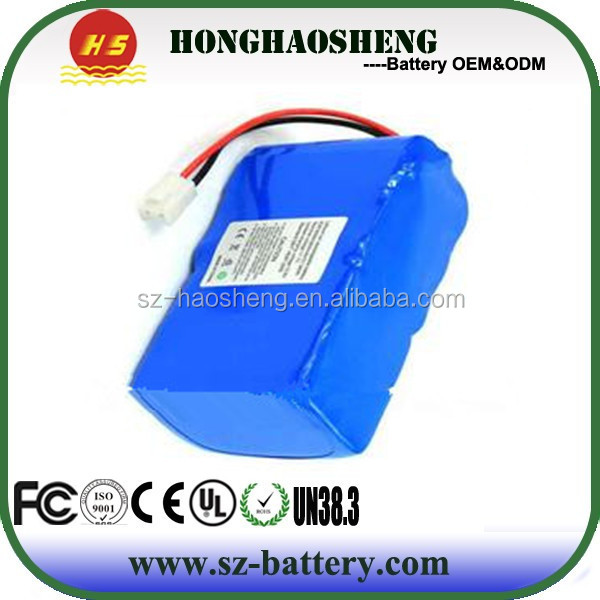 Factory made 12 volt li-ion 18650-3S4P lithium ion rechargeable battery 12v 8ah