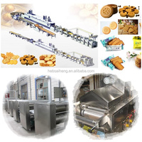 PLC Controlled/ Fully-automatic Biscuit Production Line