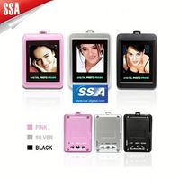 Support Win 7 OS mini pocket digital photo frame 1.5inch