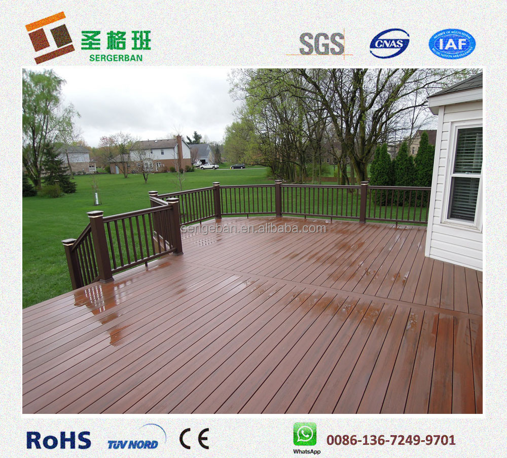 Decking composito a buon mercato materiale a buon mercato for Cheap decking material