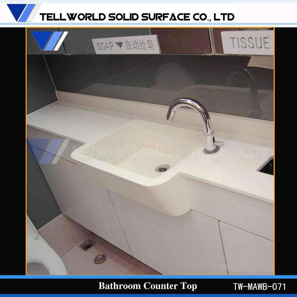 Bathroom Vanity Tops Product : White marble vanity tops corian bathroom counter