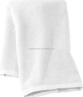 white cheap spa single use bath towel for massage