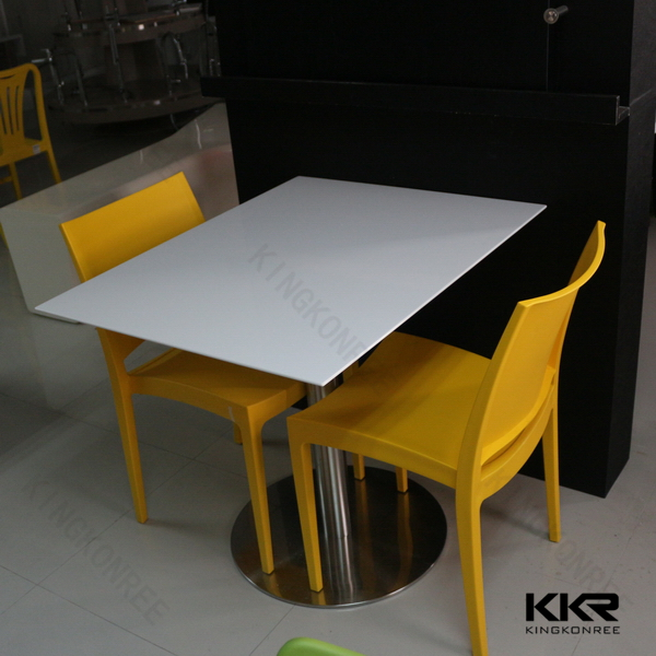 Mordern design customized round dining table tops,solid surface table,oak dining table bench