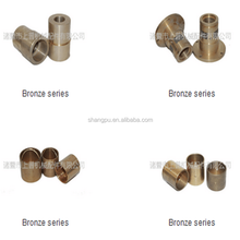 Sliding bronze/brass bushing ( copper alloy bearing ) with OEM service