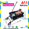 Folding Camping Wagon Cart Collapsible Sturdy