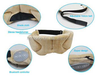 Bluetooth Sleeping Eye Mask, Sleeping Eye Patch for Travel, for Relaxing, Comfortable Solft Foam Fill In