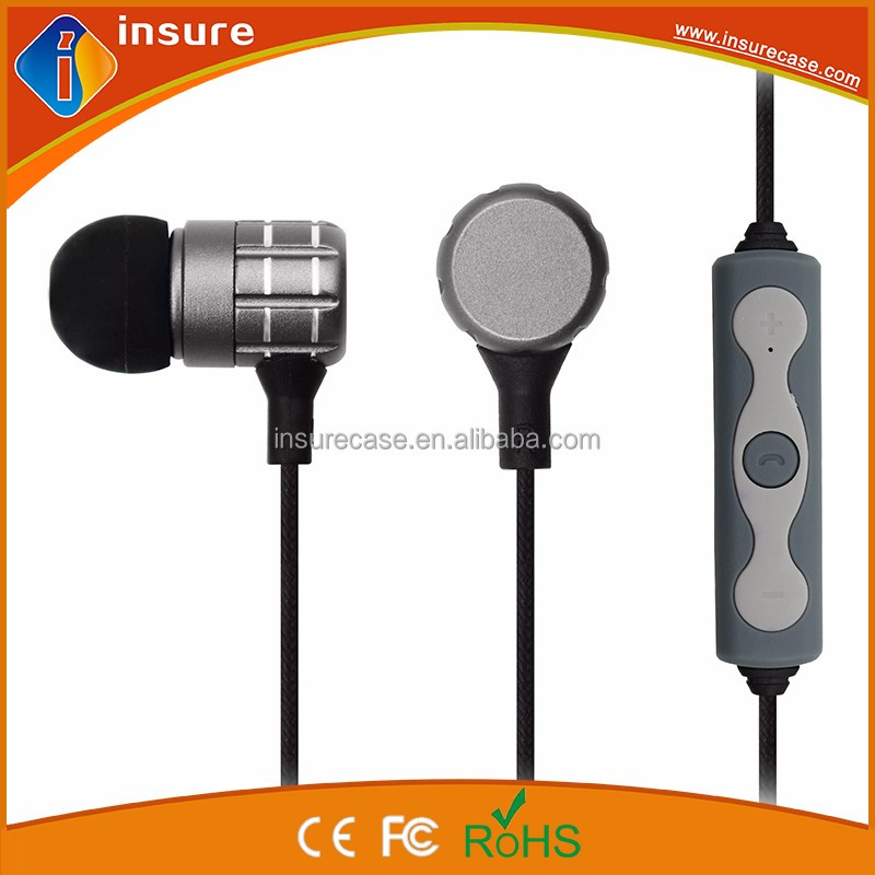 2016 new arrival lightweight wireless in ear bluetooth headset sport headphone