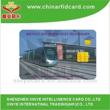 Contact IC card used in Transportation System