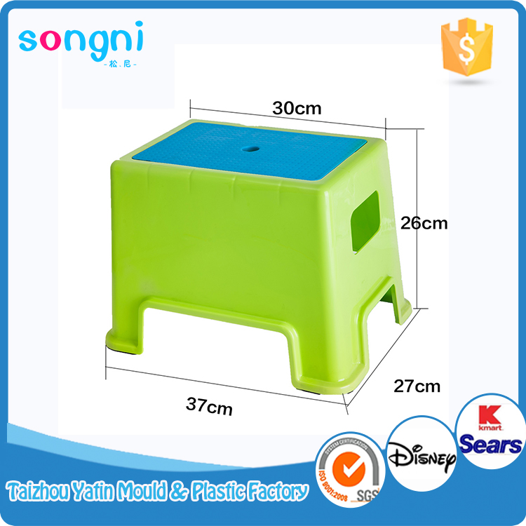 Cheap Handle Baby Plastic Square Low stool