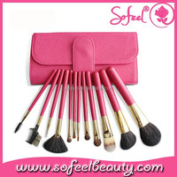 Makeup Brushes for Gifts Pink Make Up Brush Set with Private Label and Cheap Price Brushes