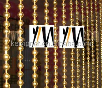 Decorative metal beaded curtain metal ball chain curtains