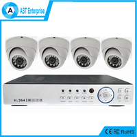 4CH 8ch Channel DVR Home CCTV Outdoor/indoor 2 megapixel ahd camera dvr kit