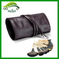 Hot sale PU make up bag, cosmetic brush bag