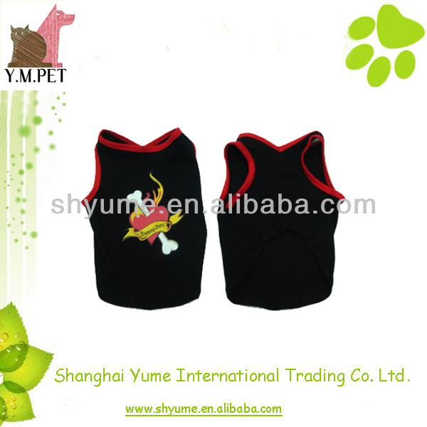 Fashion Summer Dog Clothes with Good Permeability
