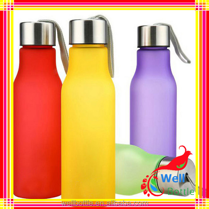 how to clean glass water bottles