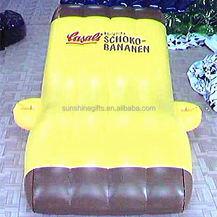Lovly animal daybed inflatable couch sofa