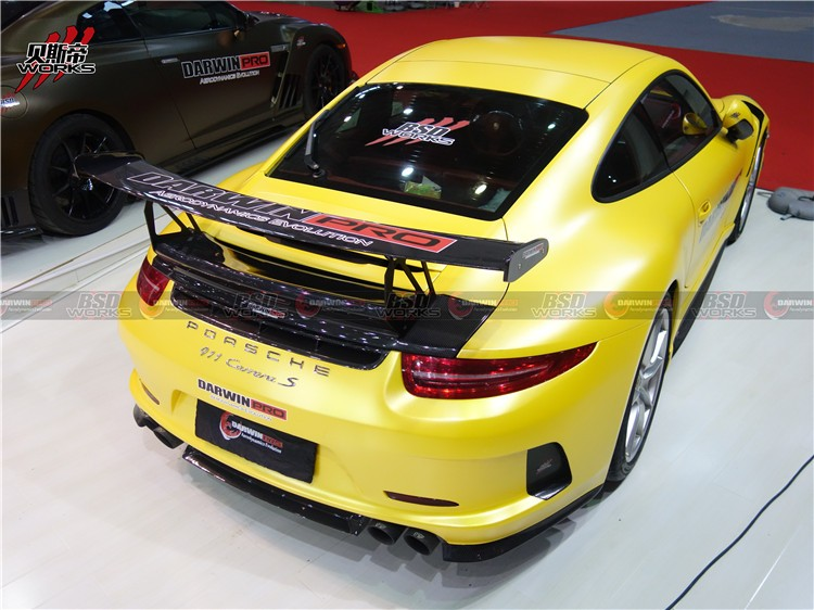 Carbon Fiber Manufacturer VRS-GT Style For 13-15 porsche Carrera 911 / 991 Rear spoiler