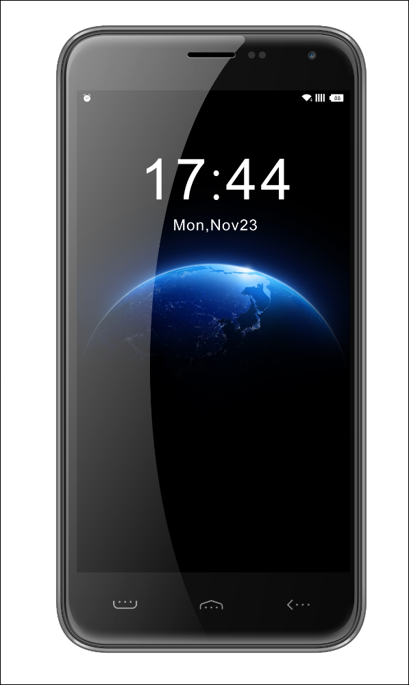 HOMTOM HT3 5.0 HD Screen Android 5.1 Big Battery 3000mAh Smart Phone