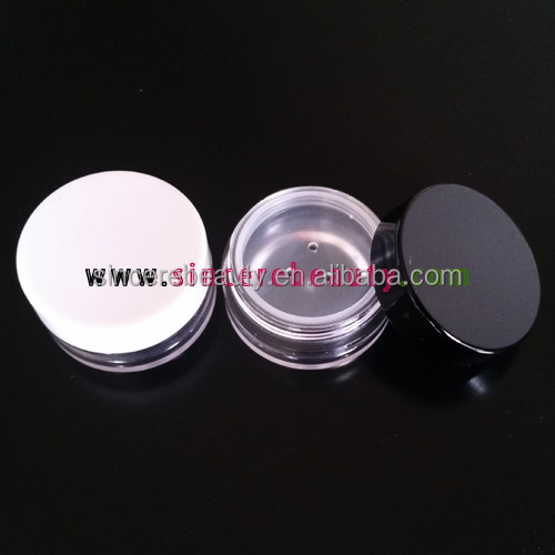 10g, 10ml PS jar with 3 holes sifter