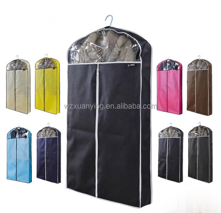 wholesale customized foldable suit cover garment bag non