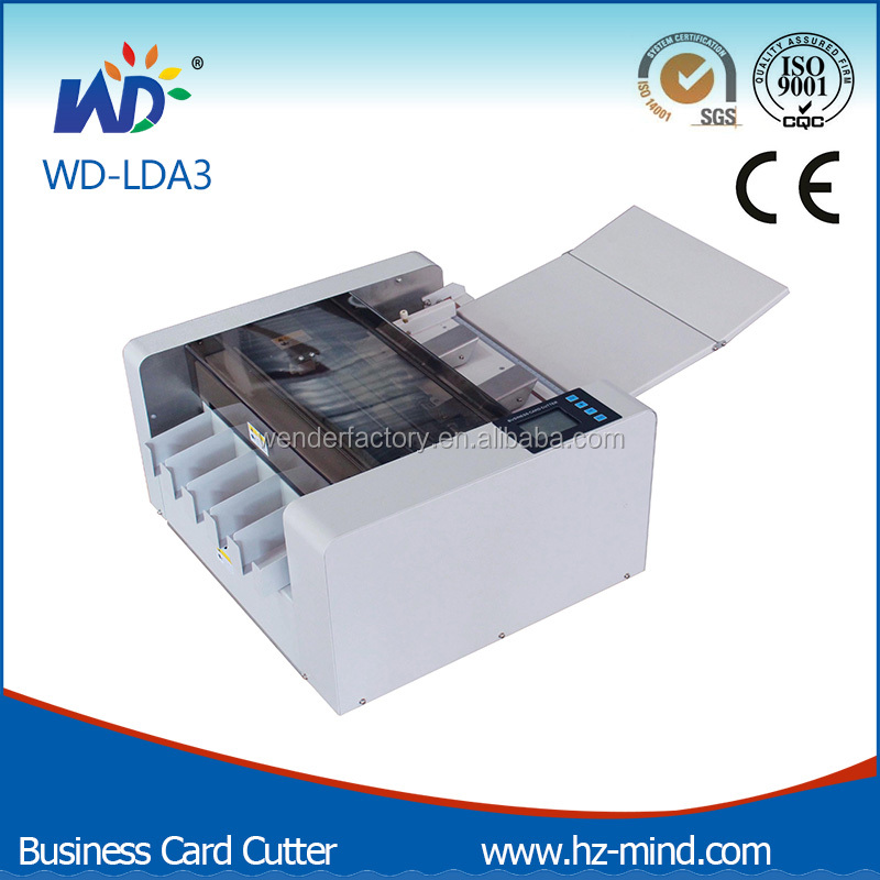 Full Automatic A3 Business Card Cutter/Business name card cutter/Electric Business Card cutter