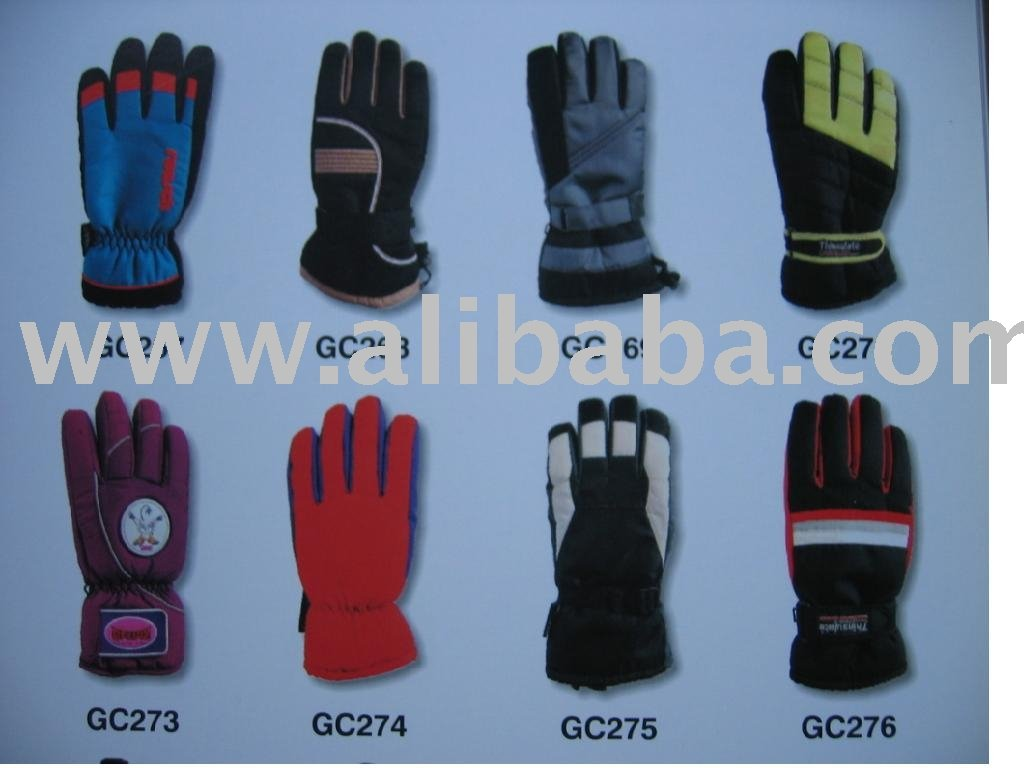 Ski Gloves And Mittens