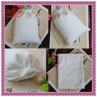 Custom Cotton Canvas Jewelry Bags