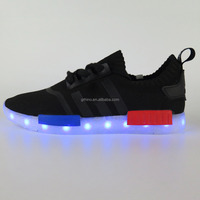 2016 newest name brand LED NMD sport shoes,LED Shoes running shoes for man,athletic shoes