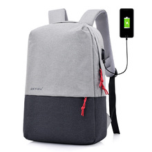 Business Large capacity usb laptop backpack bag , Anti theft backpack with usb charger , travel backpack