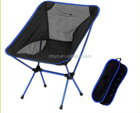 New fashion outdoor portable folding chair moon chair fishing camping hiking lightweight chair