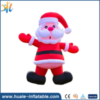 Large advrtising inflatable christmas old man , inflatable christmas decorations for sale