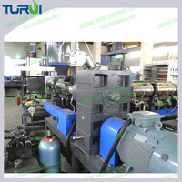 TURUI 2016Waste PP PE Plastic Film Pelletizing/Granulating Recycling Line Extrusion Machine