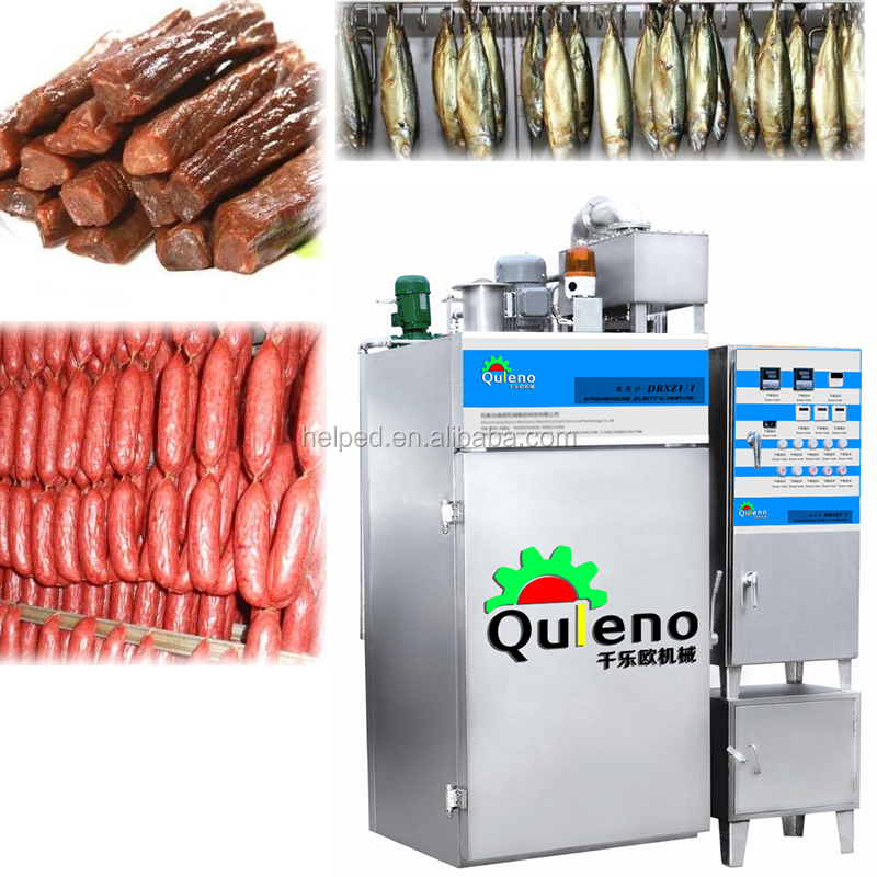 2016 hot QULENO meat smoker smokehouse for fish